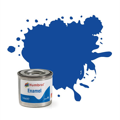 Humbrol Enamel No 222 Moonlight Blue Metallic