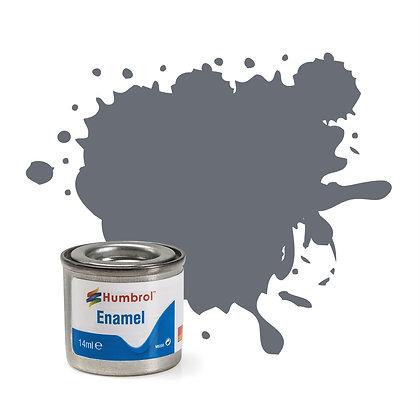 Humbrol Enamel No 5 Dark Admiralty Grey Gloss