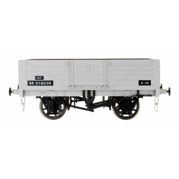 Dapol 5 Plank BR Grey Wagon - 7F-051-054