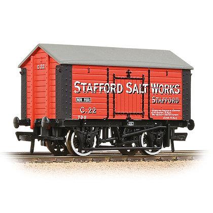 Bachmann OO 10T Covered Salt Wagon Stafford Salt Works - 33-181A