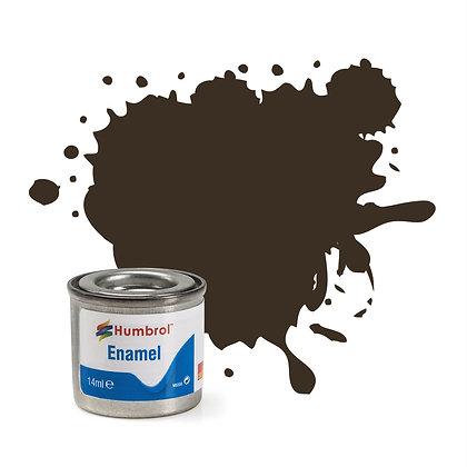 Humbrol Enamel No 10 Service Brown Gloss
