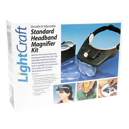 LightcraftVersatile Headband Magnifier With 4 Lenses