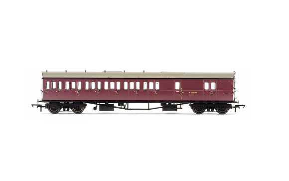 Hornby BR Collett Surburban Brake 3rd LH Coach W5507W - R4880