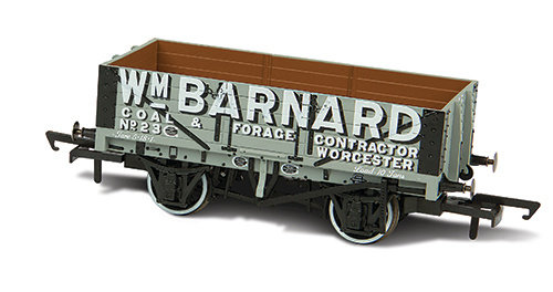 Oxford Rail WM Barnard Worcester No23 5 Plank Mineral Wagon - OR76MW5004