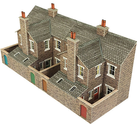 Metcalfe Terraced Stone House Backs