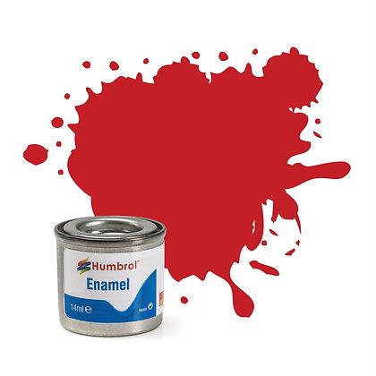 Humbrol Enamel No 220 Italian Red Gloss