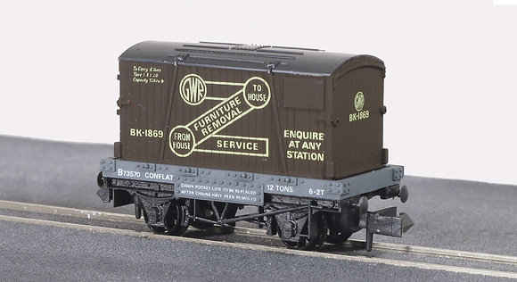 Peco N NR-20 Furniture Removals GWR Wagon
