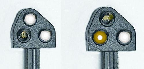 Train-Tech Ground Position Signal Kit Yellow