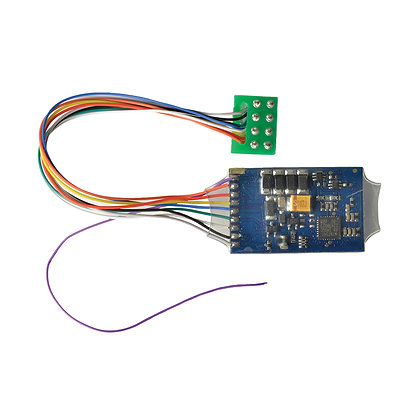 Bachmann 0.9 Amp 4 Function 8 Pin DCC Decoder - 36-566