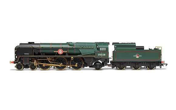 Hornby BR Merchant Navy Clan Line Includes Nameplate Badge - R3824