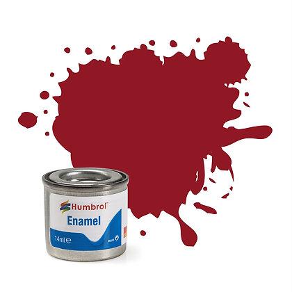 Humbrol Enamel No 20 Crimson Gloss
