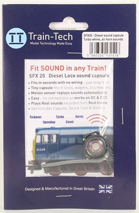 Train-Tech Diesel Loco Sound Capsule