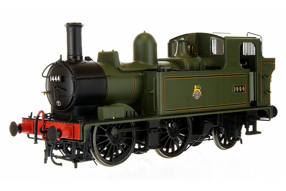 Dapol Class 14xx BR Green Early Crest Lined