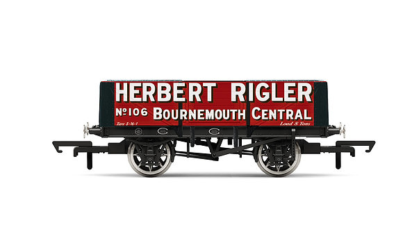 Hornby Herbert Rigler 5 Plank Wagon - R6948