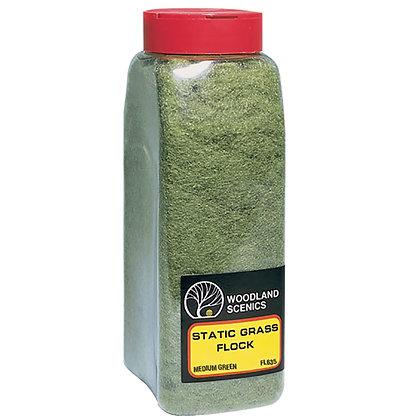 Woodland Scenics Static Grass Medium Green - FL635