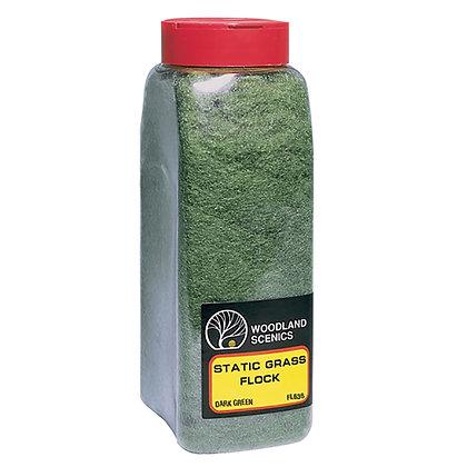 Woodland Scenics Static Grass Dark Green - FL636