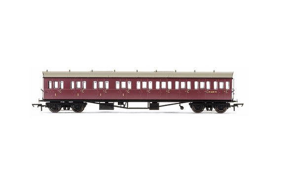 Hornby BR Collett Suburban Composite LH W6630W - R4878
