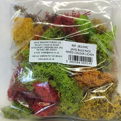 Javis Bulk Pack Mixed Colour Lichen
