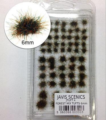 Javis Forest Mix Tufts - 6mm