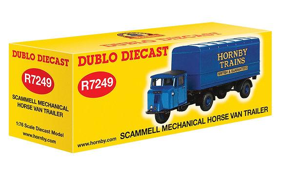 Hornby Scammell Mechanical Horse Van Trailer - R7249
