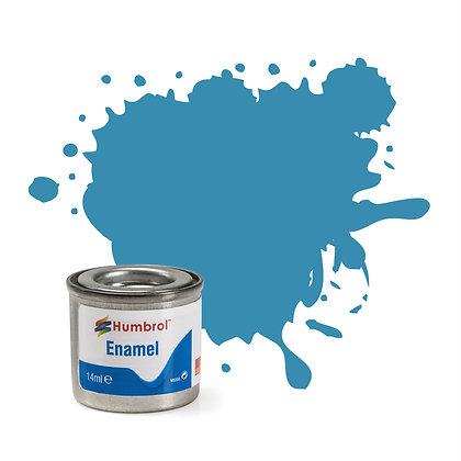 Humbrol Enamel No 48 Mediterranean Blue Gloss