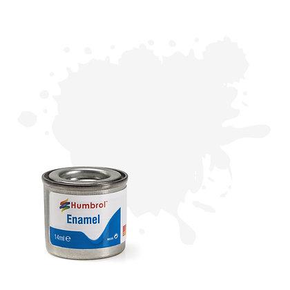 Humbrol Enamel No 130 White Satin