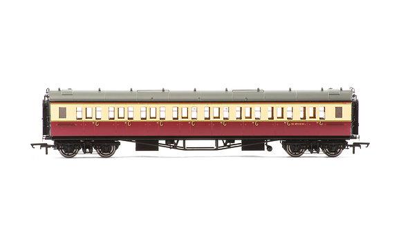 Hornby BR Collett Coach Corridor 3rd W4910W - R4684A