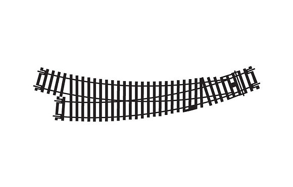 Hornby Right-Hand Curved Point - R8075