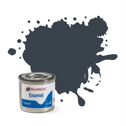 Humbrol Enamel No 32 Dark Grey Matt