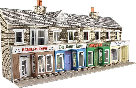 Metcalfe OO Stone Terraced Shop Fronts - PO273