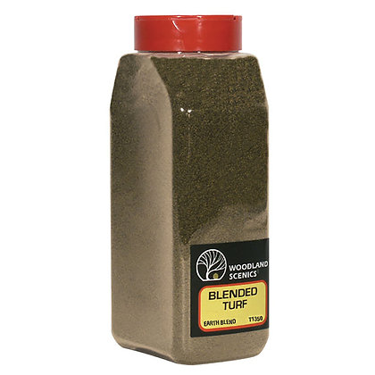 Woodland Scenics Blended Turf Earth - T1350