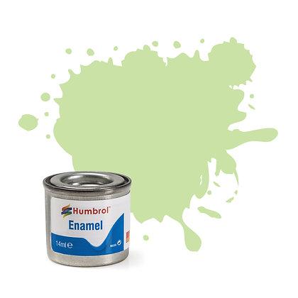 Humbrol Enamel No 36 Pastel Green Matt