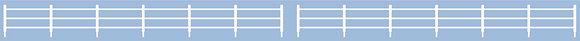 Peco N 216 Lineside Fencing