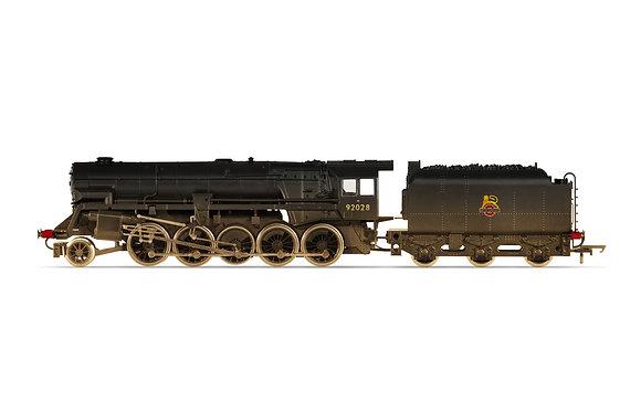 Hornby Crosti Boiler BR Class 9F Weathered - R3756