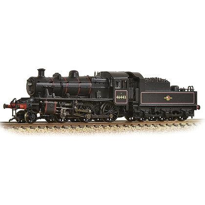 Graham Farish N Ivatt Class 2MT 2-6-0 BR Lined Black - 372-628