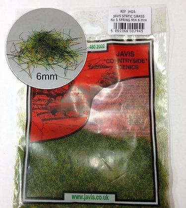 Javis Static Grass NO.5 Spring Mix 6mm
