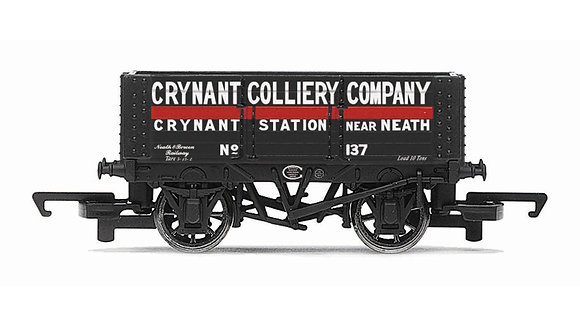 Hornby 6 Plank Wagon Crynant Colliery Company - R6816