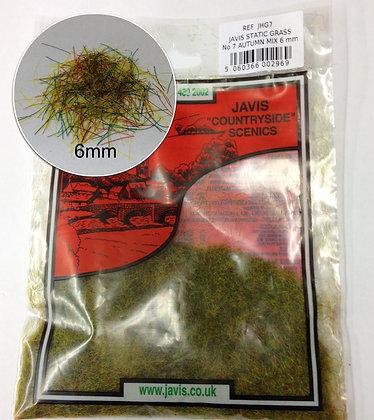 Javis Static Grass NO.7 Autumn Mix 6mm