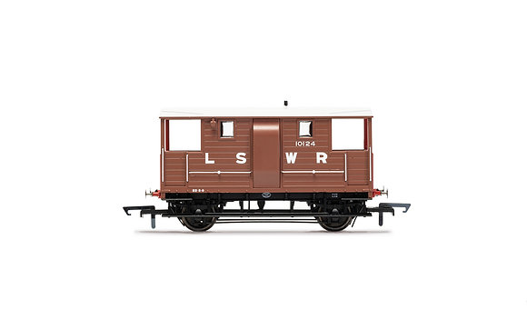 Hornby LSWR Brake Van 10124 - R6911B