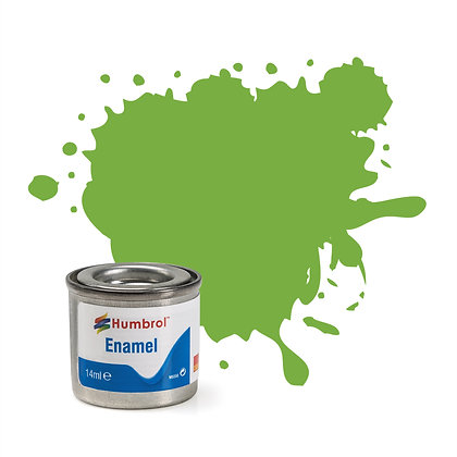 Humbrol Enamel No 38 Lime Gloss