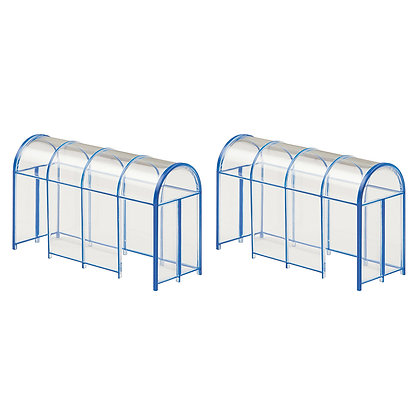 Bachmann OO Shelters x 2 - 44-510