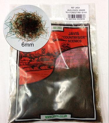 Javis Static Grass NO.4 Forest Mix 6mm