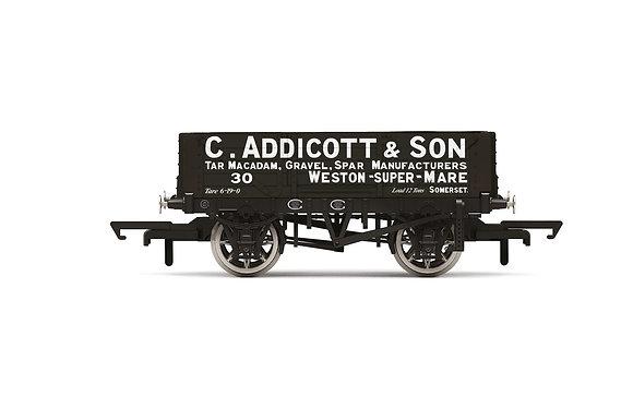 Hornby C.Addicott & Son 4 Plank Wagon - R6945