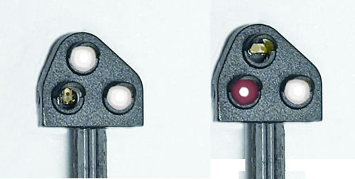 Train-Tech Ground Position Signal Kit Red