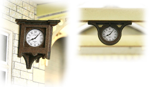 Metcalfe OO Station Clocks - PO515