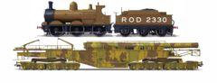 Oxford Rail WW1 Boche Buster - Camouflage And ROD2330