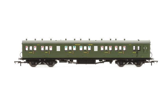 Hornby SR 58 Six Compartment Lavatory Brake Composite Coach 6401 - R4719A
