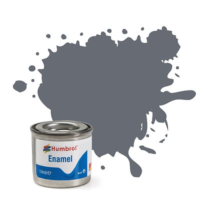 Humbrol Enamel No 123 Extra Dark Sea Grey Satin