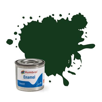 Humbrol Enamel No 3 Brunswick Green Gloss