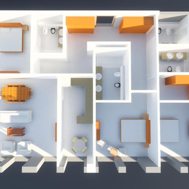 Mirabad Apartment Floor Plan